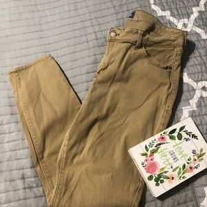 Old navy khaki jeggings